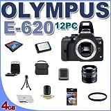 Olympus Evolt E620 Digital SLR Camera with