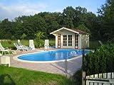 Ovalbecken Swim 4,50 x 3,00 x 1,20 m 0,8 mm