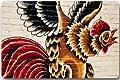 Beautiful Rooster Art Non-slip Doormat,Floor Mat Door Mat Rug Indoor/Outdoor/Front Door/Bedroom Mats 23.6(l) X 15.7(w) Inch#06