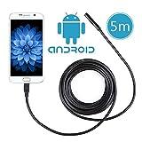 Crenova iScope USB接続エンドスコープ内視鏡Androidシステム対応 200万画素CMOS HDハンドヘルド式ボアスコープSamsung Galaxy/Note/SONY/Nexus/OTG機能付き (ケーブル長5メートル)