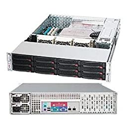 Supermicro CSE-826E16-R1200LPB SC826 E16-R1200LPB - Rack-mountable - 2U - extended ATX - SATA/SAS - hot-swap 1200 Watt - black