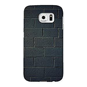 Special Black Brick Wall Back Case Cover for Samsung Galaxy S6