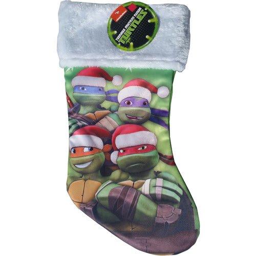 Nickelodeon Teenage Mutant Ninja Turtles Silky Christmas Stocking - 16.5'' x 9'' (Ninja Turtle Stocking compare prices)