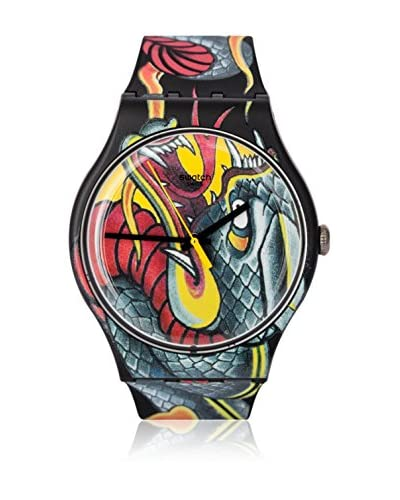 Swatch Reloj de cuarzo Man FIRED SNAKE SUOZ151 41 mm
