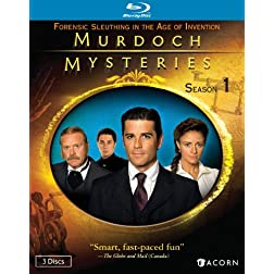 Murdoch Mysteries: Season 1 [Blu-ray]