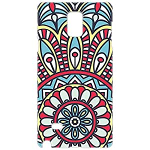 a AND b Designer Printed Mobile Back Cover / Back Case For Samsung Galaxy Note 4 (SG_N4_3D_1976)