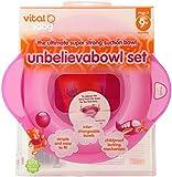Vital Baby Unbelievabowl Set, Pink