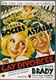 The Gay Divorcee DVD Authentic Region 1 Starring Ginger Rogers & Fred Astaire 1934