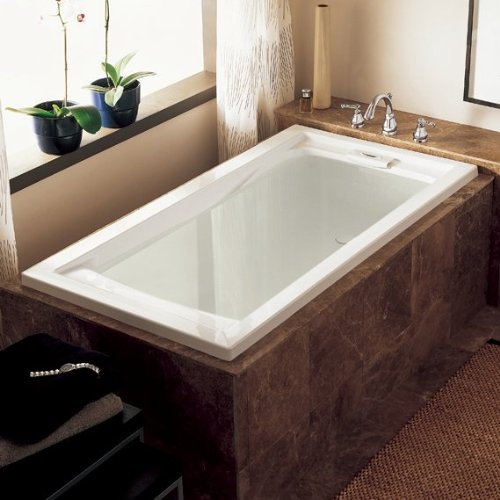 Review American Standard 2422V002.011 Evolution Deep Soak Bathing Pool, 5-Feet by 32-Inch, Arctic Wh...