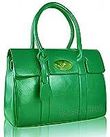 Leather Style Ladies Women Designer Tote Satchel Handbag Briefcase Shoulder Bag 2002#