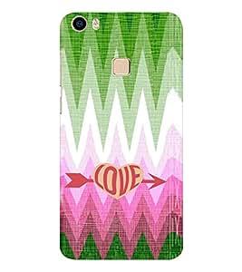 EPICCASE love arrow Mobile Back Case Cover For Vivo V3 Max (Designer Case)