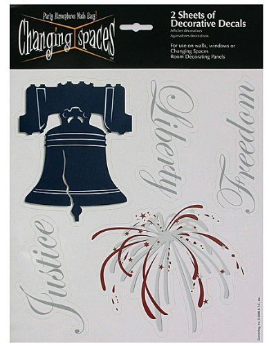 24 Packs of liberty 2 sheets of decorative decals