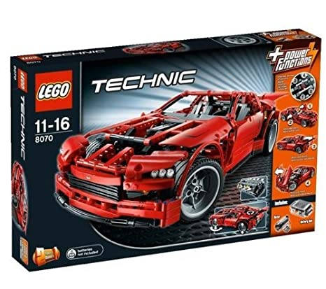 Lego Technic - 8070 - Jeu de Construction - Super Car