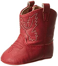 Baby Deer Western Boot (Infant),Red,1 M US Infant