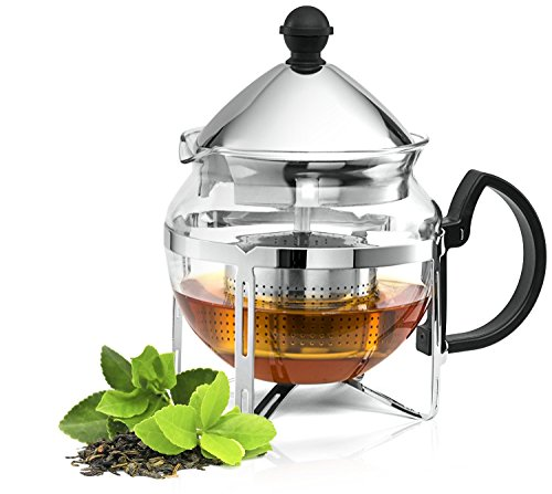 Learn More About Culinaire Functional Infuser Tea Maker - Premium Stainless Steel Tea Infuser - Heat...