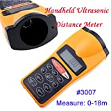 Sinotech Handheld Ultrasonic Distance Meter with Laser Rangefinder Point for Industrial and Hometesting #3007 at Sears.com