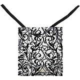 FROSTED BLACK & WHITE DESIGN BAGS (4 DOZEN) - BULK