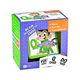 When life doesn't allow time to sit down and play, this on-the-go pack offers 90 fun question and action cards to promote social skills, better behavior, balance and coordination. With a convenient carrying case, Q's On-The-Go pack is perfect...