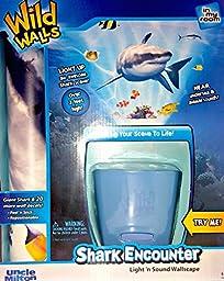 Uncle Milton - Shark Encounter Wild Walls - Light and Sound Room Decor