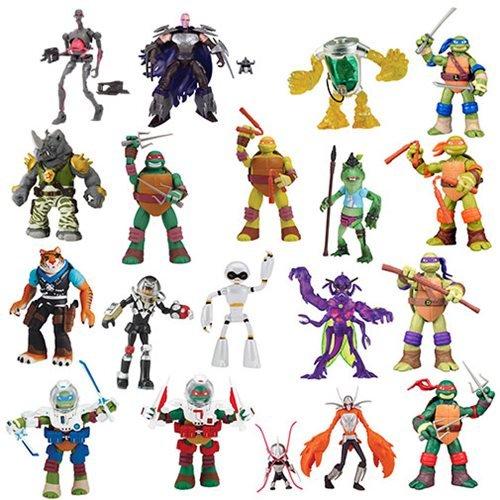 Teenage Mutant Ninja Turtles Basic Action Figure Wave 2 Case
