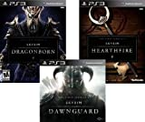 The Elder Scrolls V Skyrim DLC Bundle: Dawnguard, Dragonborn and Hearthfire - PS3 [Digital Code]