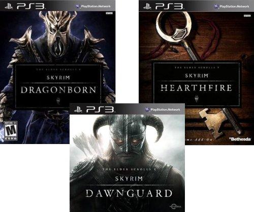 The Elder Scrolls V Skyrim DLC Bundle: Dawnguard, Dragonborn and Hearthfire - PS3 [Digital Code]