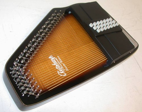 Oscar Schmidt 21 Chord Electric Autoharp W/ Gig Bag, Passive Pickup, Os150Fce