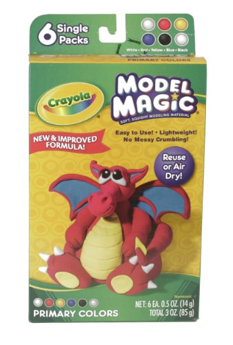 Crayola Model Magic .5 Ounce 6 Per Package