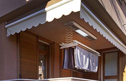 Stendibiancheria da parete e soffitto elettrico foxydry - Stendibiancheria esterno ...