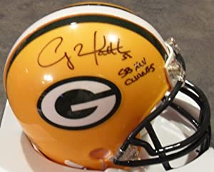 Clay Matthews Jr Green Bay Packers Signed Autographed Mini Helmet Authentic Certified Coa
