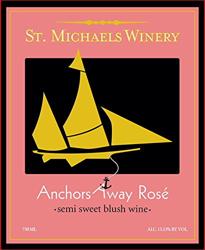 Nv St. Michaels Winery Anchors Away Rose