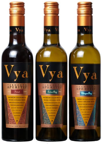 Quady Winery Vermouth Mixed Pack, 3 X 375 Ml
