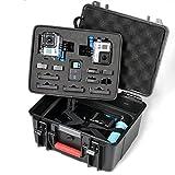 Smatree® SmaCase GA700-2 Watertight Rugged Hard Case For GoPro Hero 4, Hero 3+, Hero 3 and Hero 2 HD camcorder