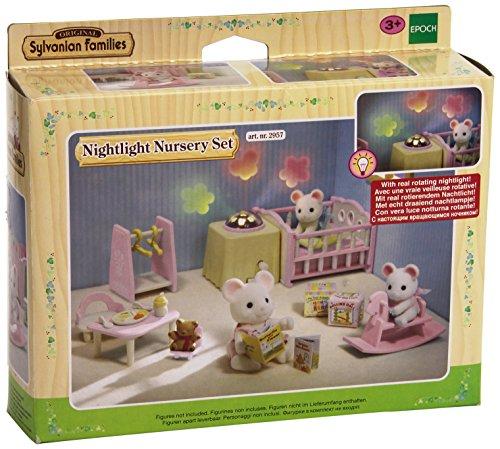 Sylvanian Families 2957 - Kinderzimmer-Set mit Nachtlicht