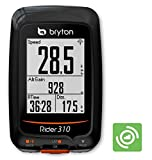 "Bryton Rider 310 GPS Cycling Computer (1.8"" display, 310C - With Cadence)"