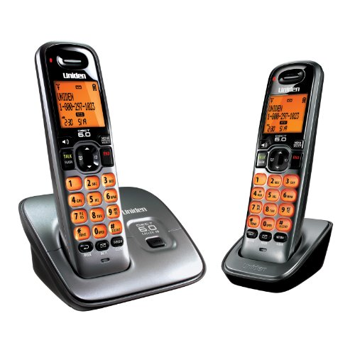 Uniden D1660-2T Dect_6.0 2-Handset Landline Telephone