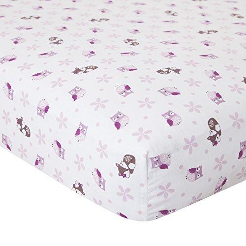 Bedtime Originals Lavender Woods Crib Sheet (Lavender Crib Sheet compare prices)