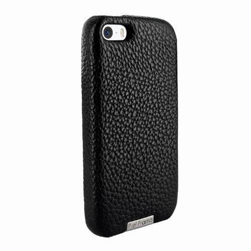 Best Price Apple iPhone 5 / 5S Piel Frama Black Karabu FramaGrip Leather Cover