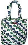 Bungalow360 Eva Whales Vegan Reversible Tote Bag