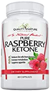 Raspberry Ketones 500 Mg 100% Natural Weight Loss and Belly Fat Burning Supplements & Appetite…
