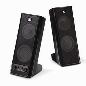 LOGITECH, INC. X-140 2.0 Speaker System LOG9702640403
