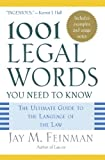 img - for 1001 Legal Words You Need to Know: The Ultimate Guide to the Language of the Law book / textbook / text book