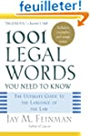 1001 Legal Words You Need to Know: Th...
