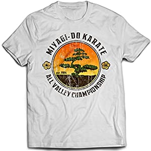 9017w Bonsai Tree Mens T-Shirt Karate Kid Miyagi Do Cobra Kai Kung-Fu Martial Arts