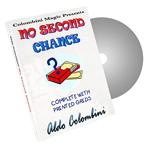 Murphy's Magic No Second Chance by Aldo Colombini Magic Trick Products-DVD