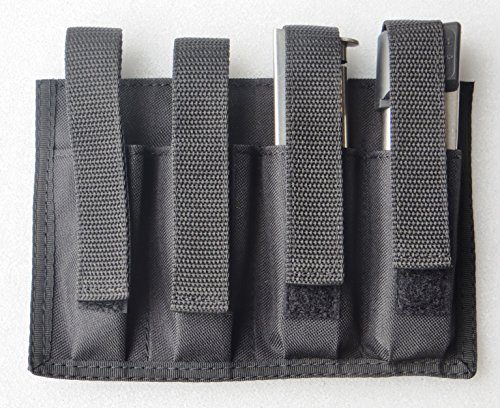 Quad Magazine Pouch 8 -10 Rd Colt, 1911 Single Stack Magazines (Quad 1911 Magazine Pouch compare prices)