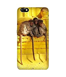 Cozy Monkeys Back Cover Case for Huawei Honor 4X