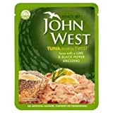John West Tuna Lime & Pepper Pouch 3x85g