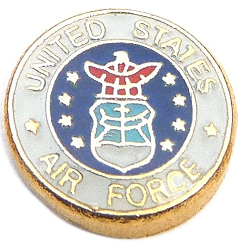 United States Air Force Floating Locket Charm (State Ref compare prices)