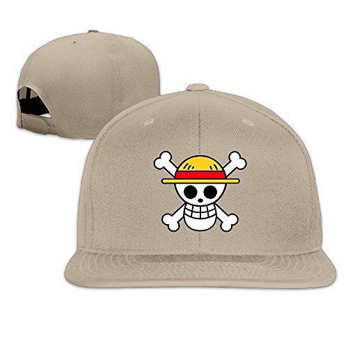 sunny-fish6hh-adjustable-one-skull-logo-baseball-caps-hat-unisex-natural